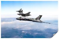 The RAF Pay Tribute, Print