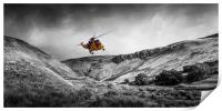 Sea King Glen Rescue, Print