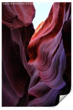 Antelope Canyon Lines, Print