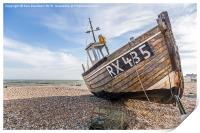 RX435 at Dungeness, Print