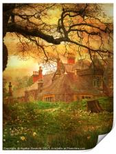 The House on the Hill., Print