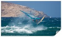 Windsurfer at Mykonos, Print