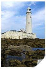 St. Mary's Lighthouse, Print