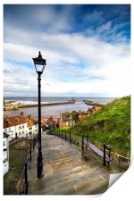 Whitby Steps, Print