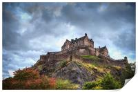 Edinburgh Castle, Print