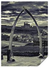The Whale Jaw Bone Arch, Print