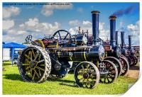 Pickering Steam Rally North Yorks, Print