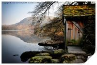Old Boathouse, Grasmere, Print