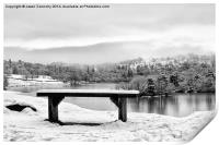 The Rydalwater Bench, Print