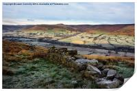 The Vale Of Edale, Print