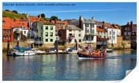 Whitby Harbour, Print