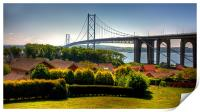 The Bridge from North Queensferry, Print