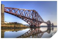 North Queensferry Reflections, Print