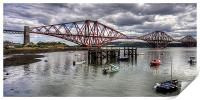 The Bridge from North Queensferry Bay, Print