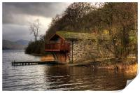 The Duke of Portland Boathouse, Print