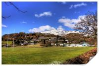 Playing Fields of Coniston, Print