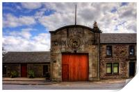 Strathaven Town Mill, Print