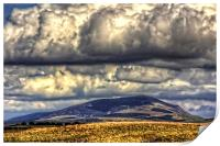 Clouds over Tinto, Print