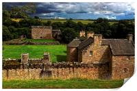 The Castle at Craignethan, Print