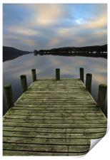 Early Morning At Coniston, Print