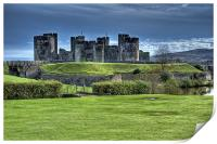 Caerphilly Castle, Print