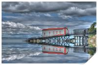 Reflections of Tenby 3, Print