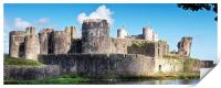 Caerphilly Castle 7, Print