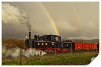 Steam and Double Rainbow, Print