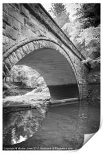 Circles in the River Derwent, Print