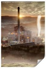 Hope Cement Works , Print