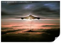 Fueling the Vulcan, Print