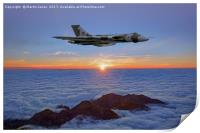 Vulcan XH558 High Altitude Sunrise, Print
