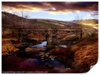 Packhorse Bridge, Print