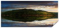 Win Hill Reflections, Print