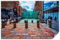 Buchanan Street Subway Entrance, Print
