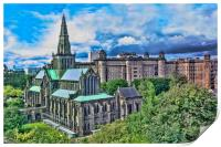Glasgow Cathedral, Print