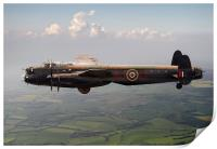 Dambusters Lancaster AJ-G carrying Upkeep, Print