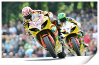 Tommy Hill & Michael Laverty - BSB 2011, Print