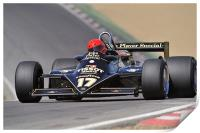 Nico Bindels - Lotus 87B-3 Brands Hatch 2010, Print