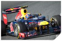 Mark Webber 2012 Redbull - Spain, Print