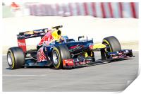 Mark Webber 2012 - Spain - Catalunya, Print