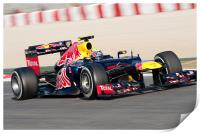 Mark Webber 2012 Spain, Print