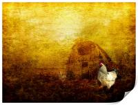 Memories of a Farmyard, Print