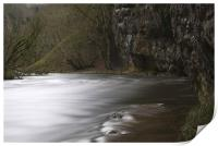 The River Wye, Chee Dale Derbyshire, Print