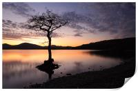 Loch Lomond Sunset, Print