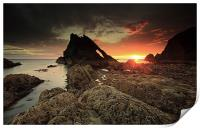 Bow Fiddle Rock, Print