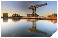 River Clyde Reflections, Print