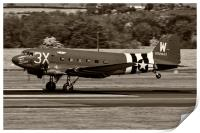 C-47A Sytrain That's All Brother, Print