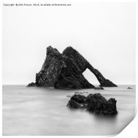 Bow Fiddle Rock square format, Print