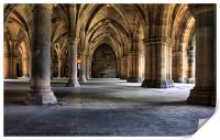 Pillars and arches, Print